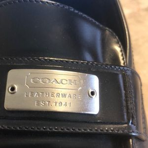Coach Leather Loafer Size 6 1/2